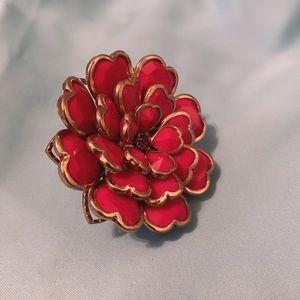 Jewelry - 2/$25 Flower ring